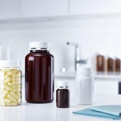 Screw-on pill jars